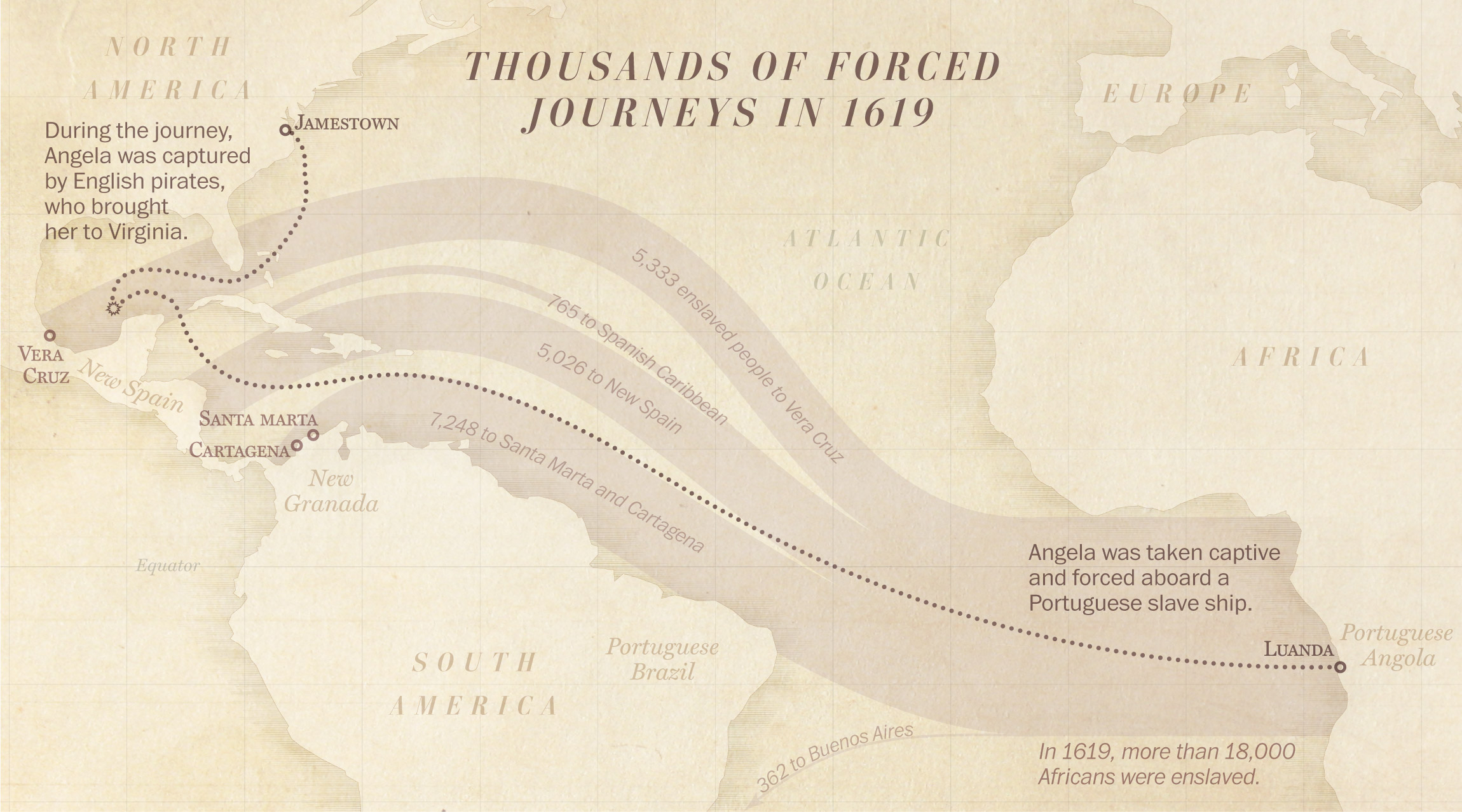 When did slavery begin in America? Jamestown\'s history ...